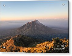 Sunrise Over Java In Indonesia Acrylic Print