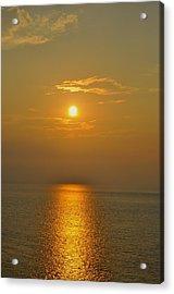 Sunset At Rameshwaram  Acrylic Print