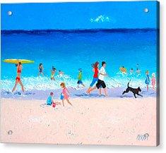 Sunshine And Summertime Acrylic Print by Jan Matson