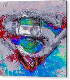 #superman #supermanvsbatman Acrylic Print