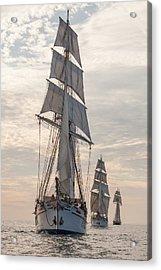 Parade Of Ships Acrylic Print