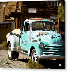 Techatticup Mine Ghost Town Nv Acrylic Print by Marti Green