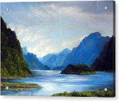 Thai Landscape Acrylic Print