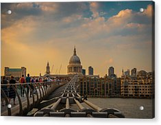 Acrylic Print featuring the photograph Thames View by Stewart Marsden