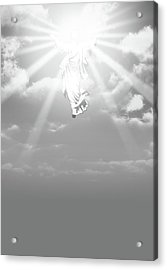 The Ascension And Resurrection Acrylic Print