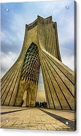 The Azadi Tower Acrylic Print by Mao Lopez