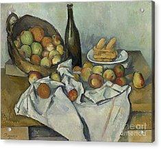 The Basket Of Apples, Acrylic Print
