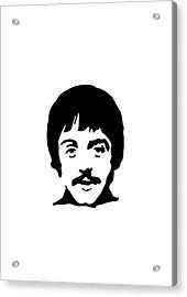 The Beatles Acrylic Print