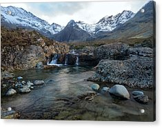 The Fairy Pools, Isle Of Skye Acrylic Print