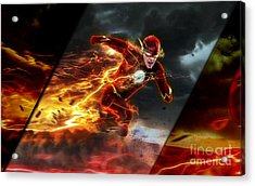 The Flash Collection Acrylic Print by Marvin Blaine