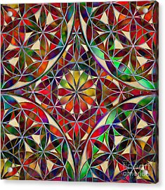 The Flower Of Life Acrylic Print