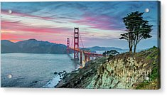The Golden Gate Acrylic Print by JR Photography