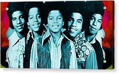 The Jackson 5 Collection Acrylic Print by Marvin Blaine