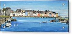The Long Walk Galway Ireland Acrylic Print