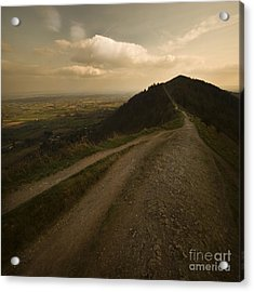 The Malvern Hills Acrylic Print by Angel Ciesniarska