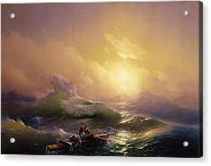 The Ninth Wave Acrylic Print by Ivan Aivazovsky