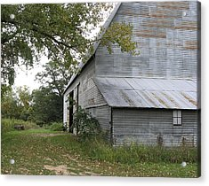 The Old Barn Acrylic Print by Janis Beauchamp