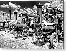 Acrylic Print featuring the photograph The Old Way Of Farming by Paul W Faust - Impressions of Light