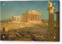 The Parthenon Acrylic Print