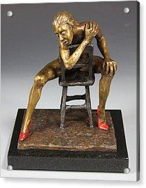 The Red Heels Acrylic Print by Dan Earle