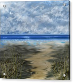The Road Less Travelled Acrylic Print by Anne Norskog