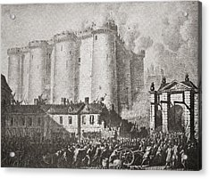 The Storming Of The Bastille, Paris Acrylic Print by Vintage Design Pics