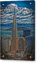 The Transamerica Building Acrylic Print by Mountain Dreams