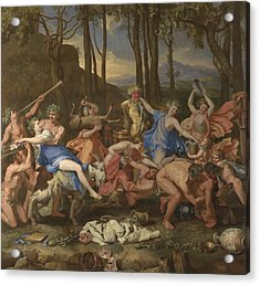 The Triumph Of Pan Acrylic Print
