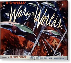 The War Of The Worlds, 1953 Acrylic Print by Everett