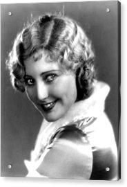 Thelma Todd, Portrait Ca. 1935 Acrylic Print by Everett