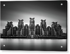 2 Time Winner Of The Worst Building In The World Award Acrylic Print
