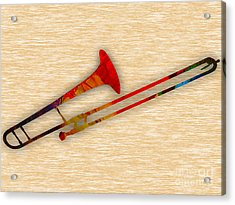 Trombone Collection Acrylic Print