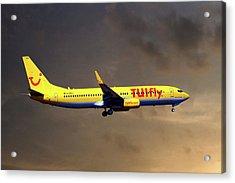 Tui Fly Boeing 737-8k5 Acrylic Print