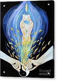 Twin Flame Acrylic Print