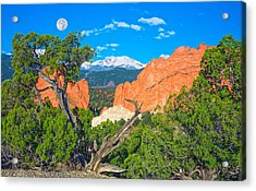 Typical Colorado  Acrylic Print by Bijan Pirnia