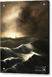 Acrylic Print featuring the painting Untitled by Stephen Roberson