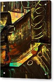 Untitled Acrylic Print by Teo Santa