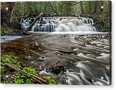 Upper Mosquito Falls Acrylic Print
