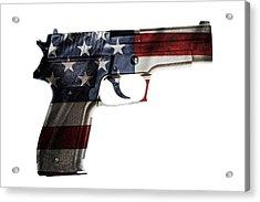 Usa Gun  Acrylic Print