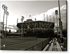 Usta National Tennis Center Acrylic Print