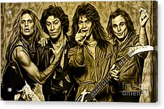 Van Halen Collection Acrylic Print