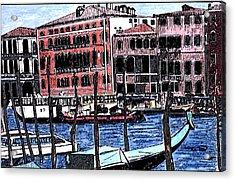 Venice Italy Acrylic Print by Monica Engeler