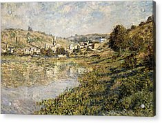 Vetheuil Acrylic Print by Claude Monet