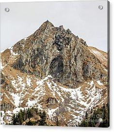 View Of Massif Central Puy De Sancy. Auvergne. France Acrylic Print by Bernard Jaubert