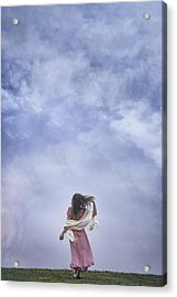 Walking Into The Sky Acrylic Print by Joana Kruse