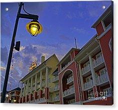 Walt Disney World - Boardwalk Villas  Acrylic Print