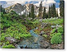 Wasatch Mountains Utah Acrylic Print by Utah Images