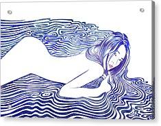 Water Nymph Xxii Acrylic Print