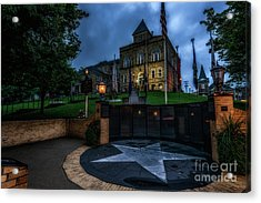 Acrylic Print featuring the photograph Webster County Courthouse by Thomas R Fletcher