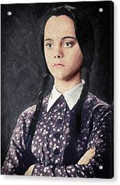Wednesday Addams Acrylic Print